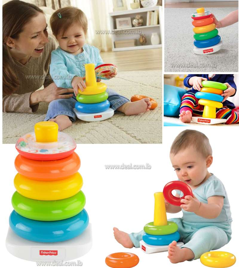 Rock-a-Stack Kids Toys