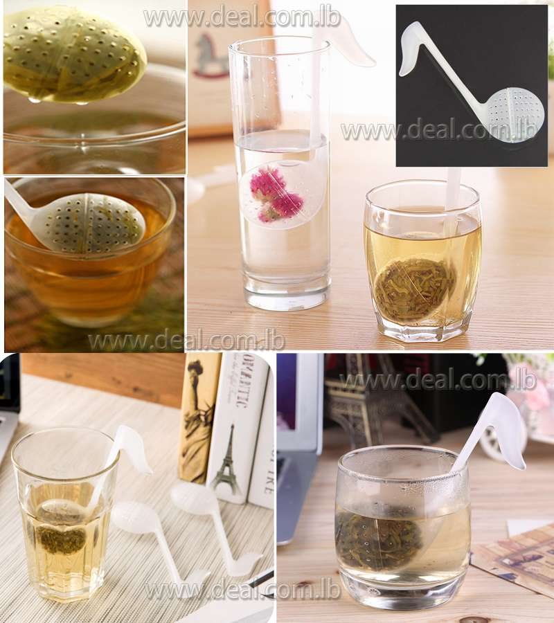 Swan Shaped Teaspoon Filter Infuser Bag Tea Strain