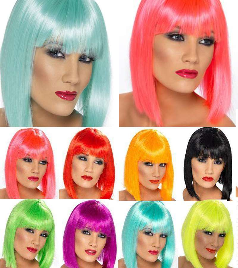 Female fancy dress wigs