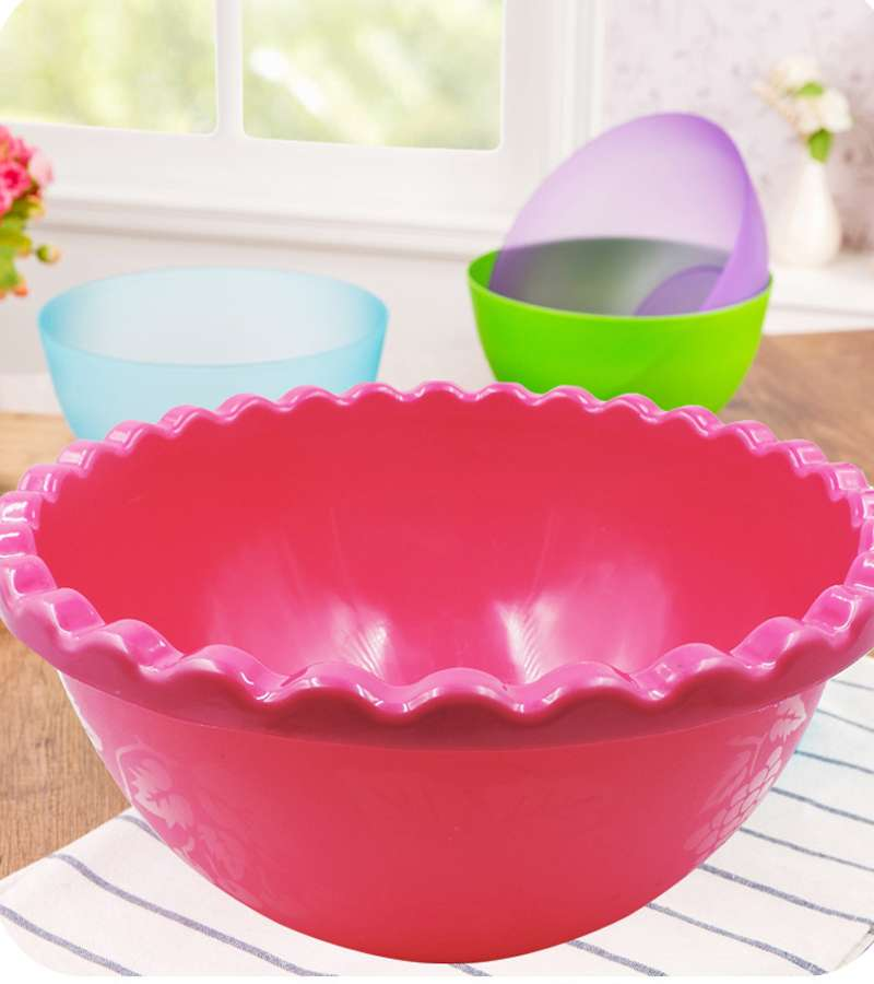 Fruits & vegetables Big plastic Bowl