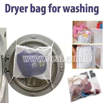 Dryer bag for washing fine clothes
