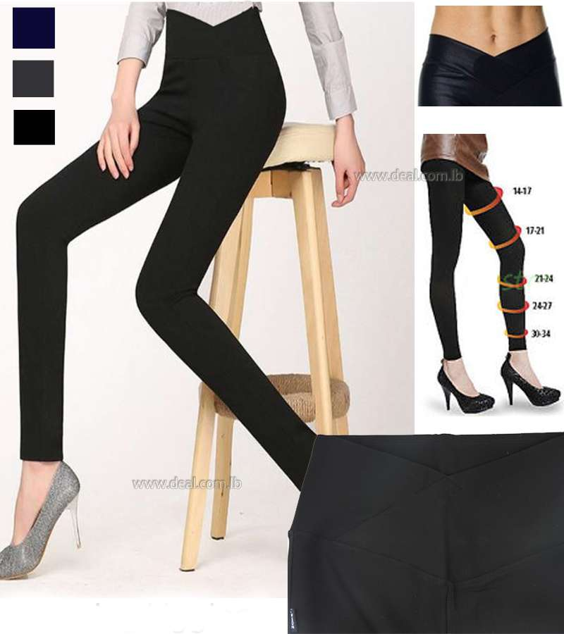 Fashion high waisted Slimming Leggings