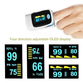 Digital+Finger+pulse+oximeter+Blood+Oxygen+spo2+puls+saturation