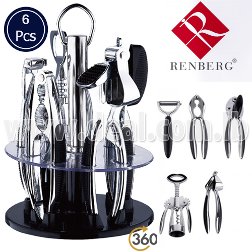 IGrab.me   66pcent Off Renberg Kitchen Gadget Set 6 Pcs (pay $29 Instead Of  $85)   Everyday Deals