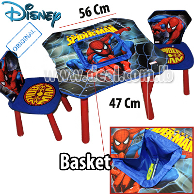 Incredible Spiderman Table And Chair Set Vascular Andrewgaddart Wooden Chair Designs For Living Room Andrewgaddartcom