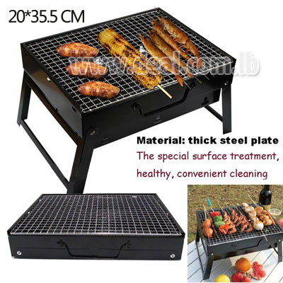 70 off outdoor camping portable foldable charcoal bbq grill hibachi picnic rack stove. Black Bedroom Furniture Sets. Home Design Ideas